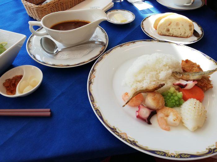グランキューブ大阪 最上階レストラン